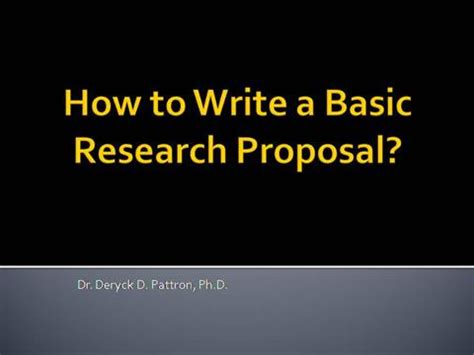 How to write an application for research funding